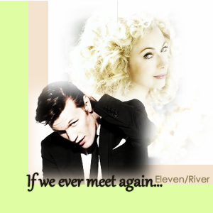 The Doctor and River Song karatasi la kupamba ukuta with a portrait entitled Eleven And River ;)