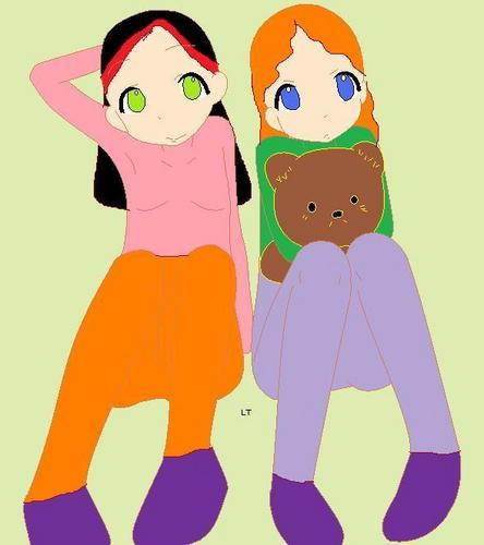 Elizabeth and Luna