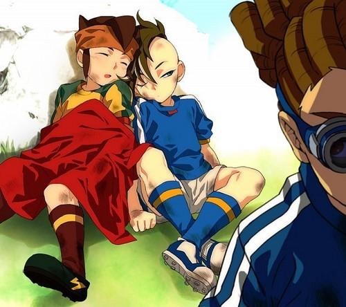 Endou, Fudou e Kido 1