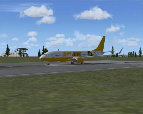 FSX B737-800 Alpha Air livery