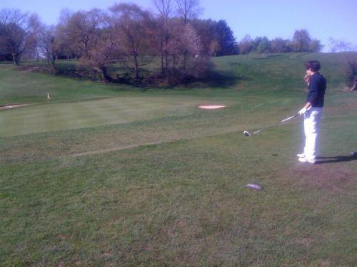 Flirty Harry Playing Golf!! (Rare Pic) Ur My Hero!! 100% Real ♥