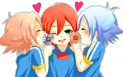 Fubuki, Hiroto e Atsuya