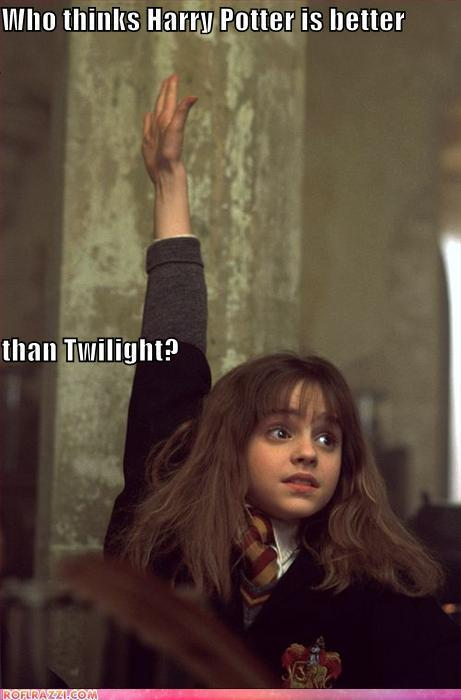 harry potter is better than twilight