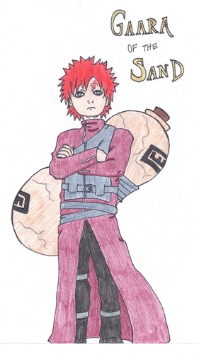 Gaara of Suna wallpaper containing anime called Gaara of the Sand