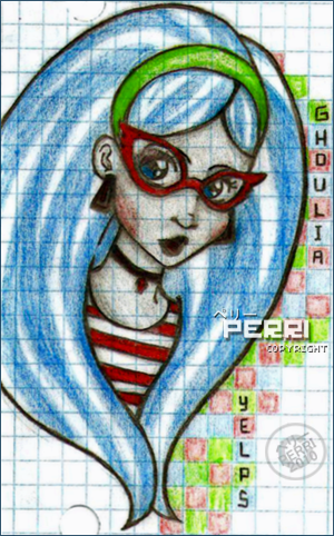 Ghoulia fan Arts♥