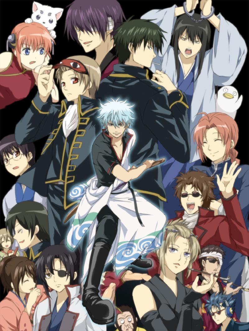 Anime Characters Images : Gintama world photo  fanpop
