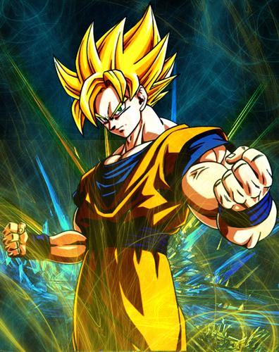 SSJ Goku wallpaper by Soki-n-Kat ...