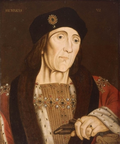 Tudor History wallpaper probably with a sign and a surcoat called Henry VII