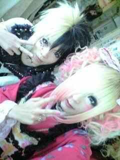 Hiyori (Kiryu) and Saran (Aicle)