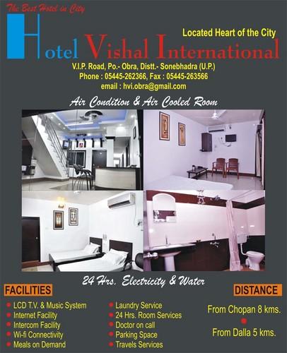 Hotal Vishal International Obra Sonebhadra