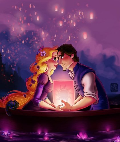 Tangled wallpaper called I See the Light