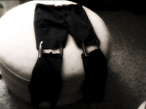 I designed my own jeans :D