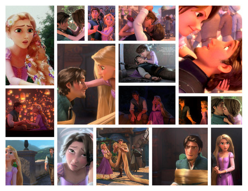 I heart Tangled - rapunzel-and-flynn Photo