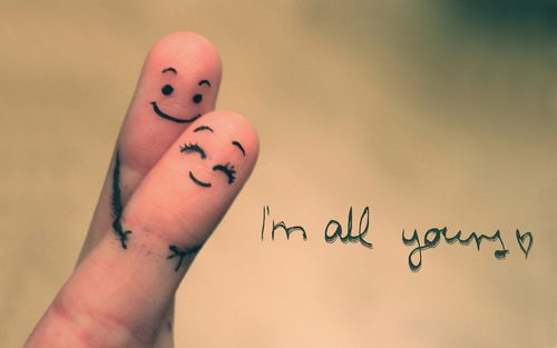 I'm all yours <3