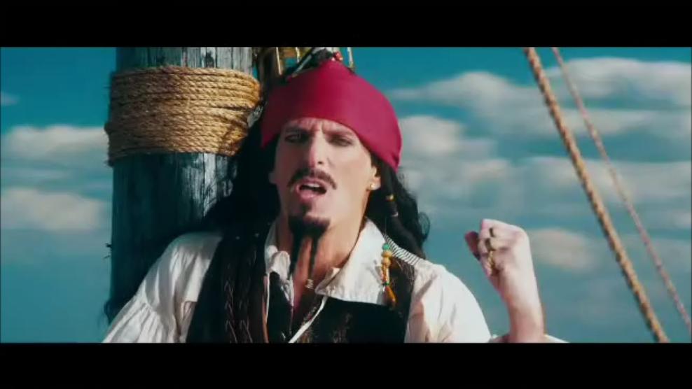 Jack Sparrow Lonely Island