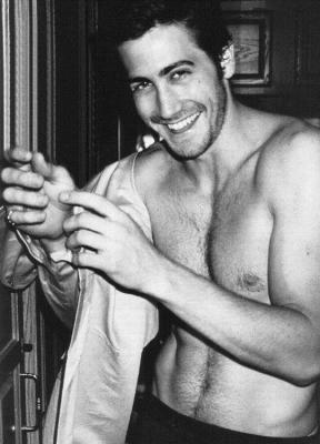 definetely huge crush jake gyllenhaal