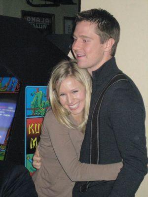Jason Dohring and Kristen колокол, колокольчик, белл
