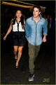 Jenna Ushkowitz &amp; Michael Trevino: Broadway Date Night! - michael-trevino photo