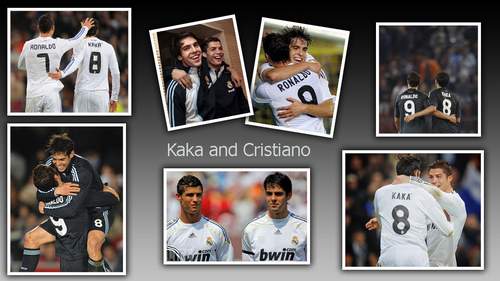Kaka and Ronaldo wallpaper made oleh kaka99
