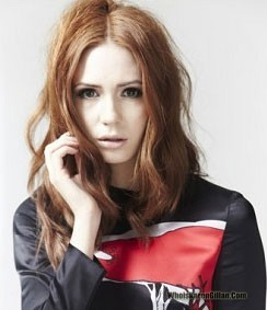 ScarletWitch wallpaper containing a portrait titled Karen Gillan