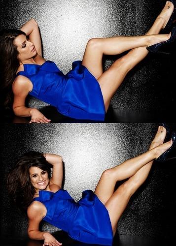 Lea Michele fondo de pantalla containing skin called Lea Photoshoot