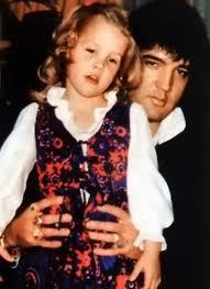 Lisa and Elvis - elvis-aaron-presley-and-lisa-marie-presley Photo