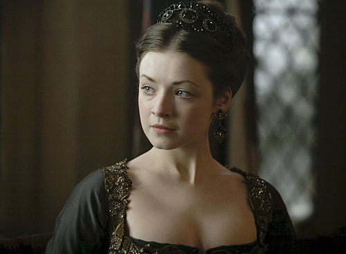 The Tudors fond d'écran possibly containing attractiveness, a cocktail dress, and a portrait called Mary Tudor