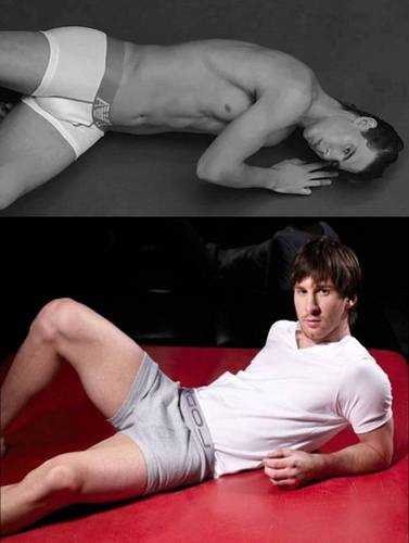 Nadal and Messi hot crotches - youtube Photo