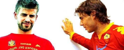 Nadal is nicer footballer than Piqué