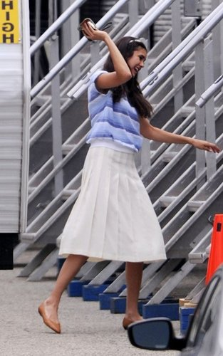 """Nina on set """" The Perks of Being a Wallflower"""""""