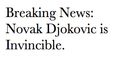 Novak ATP Tennis! 37 Wins & Counting (Breaking News: Novak Djokovic Is Invincible) 100% Real ♥