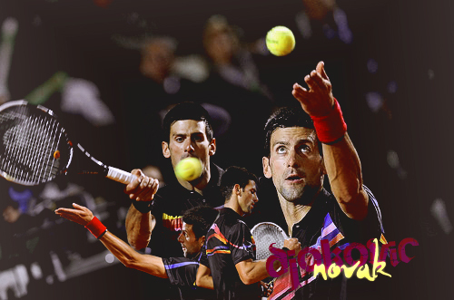 Novak ATP Tennis! 37 Wins & Counting (Love Everyfing Bout The Serbernator) 100% Real ♥