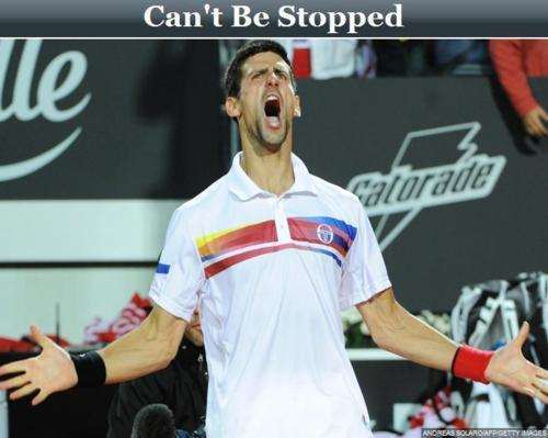 Novak Can't B Stopped! 37 Wins & Counting (Love Everyfing Bout The Serbernator) 100% Real ♥