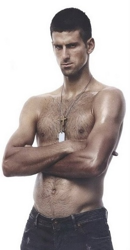 Novak's Topless 照片 Shoot!!! (Love Everyfing Bout The Serbernator) 100% Real ♥