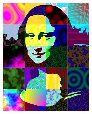 Pop art_Mona Lisa