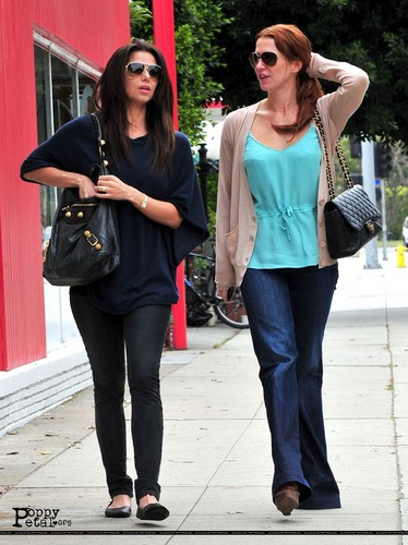 papaver & Roselyn out in Brentwood (4/18/11)