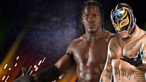 R-Truth vs Rey Mysterio-Over the