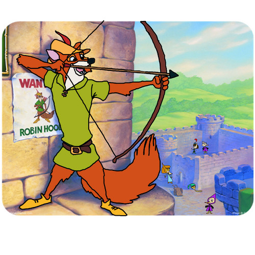 Walt Disney's Robin Hood wallpaper possibly with anime entitled Robin Hood Katie The Movie
