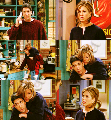 Ross and Rachel wallpaper titled Ross and Rachel