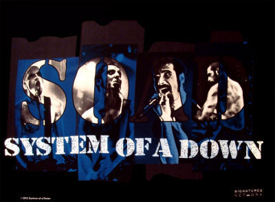 System Posters System of a Down Soad Posters