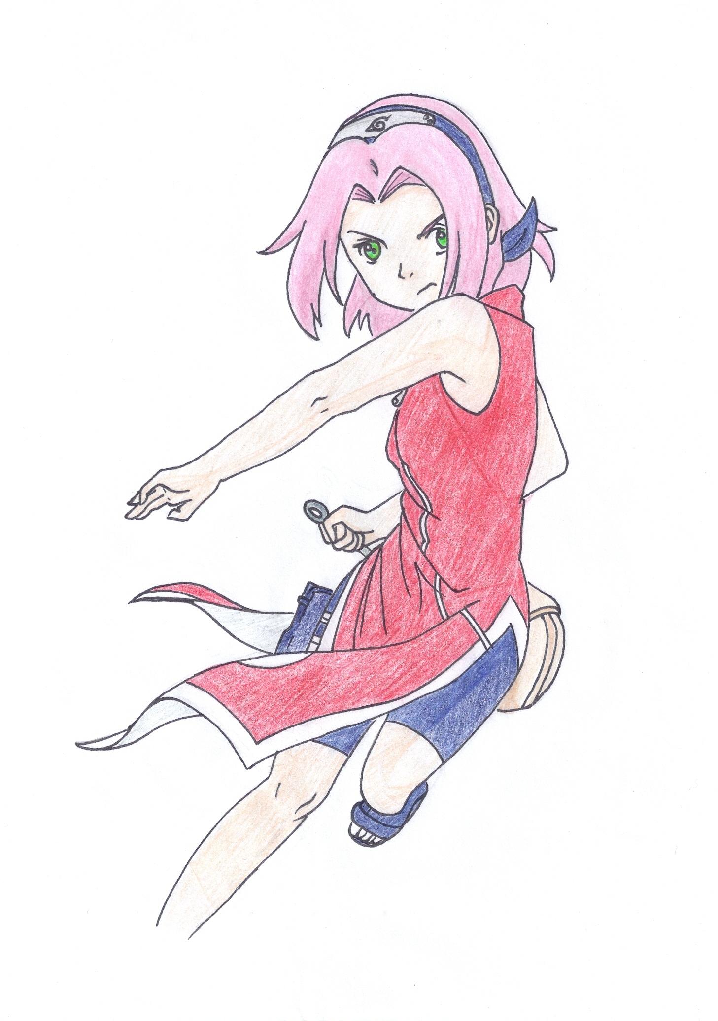 Sakura Haruno Naruto Fan Art 22018205 Fanpop