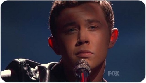 """Scotty sings """"Where Were wewe When the World Stopped Turning"""" in the juu 4"""