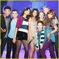 Shake it Up cast with Selena Gomez!