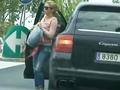 Shakira takes classes in Barcelona streptease