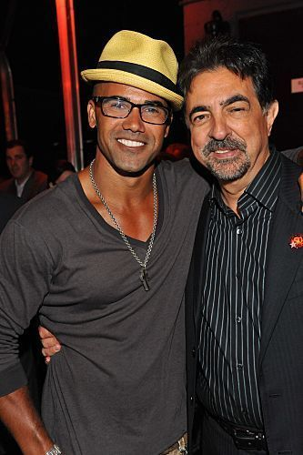 Shemar Moore wallpaper containing a boater and a fedora entitled Shemar & Joe, Walk of fame