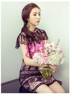 Shin Se Kyung - For Elle Girl