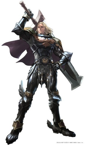 Siegfried Schtauffen in SoulCalibur V