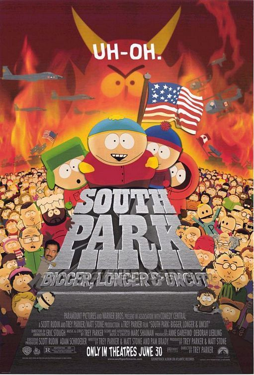 South Park: Bigger, Longer and Uncut DVD cover