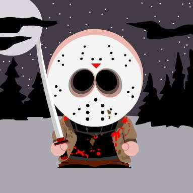South Park version of Jason Voorhees.
