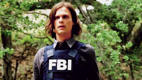 Criminal Minds Hintergrund titled Spencer Reid